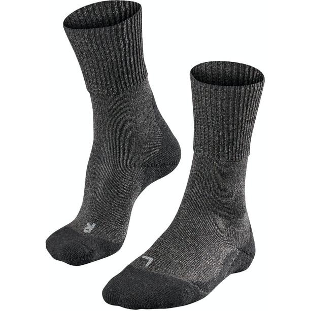 Falke TK1 Wool Trekking Socken Damen grau