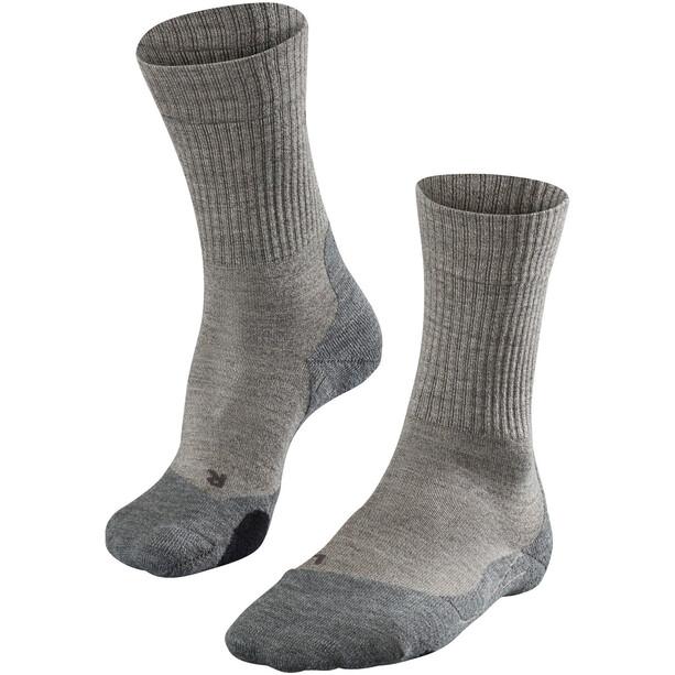 Falke TK2 Wool Trekking Socken Damen kitt mouline