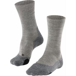 Falke TK2 Wool Trekking Socken Damen grau/beige grau/beige