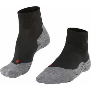 Falke TK5 Korte Trekking Sokken Heren, zwart/grijs zwart/grijs