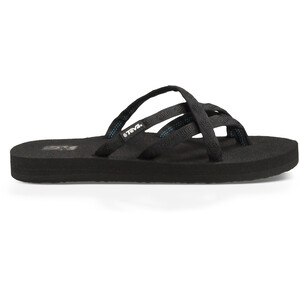 Teva Olowahu Chaussures Femme, mix b on black mix b on black