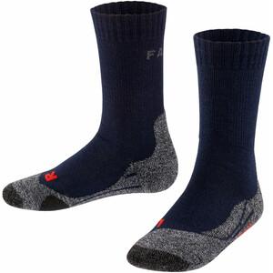 Falke TK2 Trekking Sokken Kinderen, blauw blauw