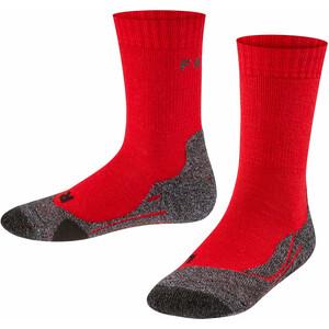 Falke TK2 Trekking Socken Kinder rot rot