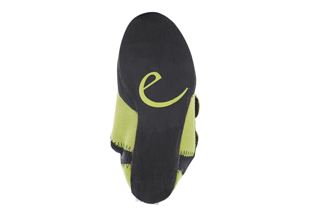 edelrid crocy chaussons d 39 escalade enfant noir vert. Black Bedroom Furniture Sets. Home Design Ideas