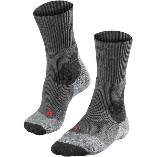 Falke TK4 Trekking Socken Herren asphalt melange
