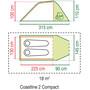 Coleman Coastline 2 Compact Zelt