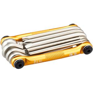 Crankbrothers Multi-10 Multi-værktøj, guld guld