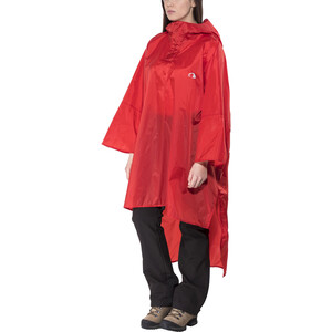 Tatonka Poncho 1 XS-S red red