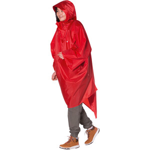 Tatonka Poncho 2 M-L red red