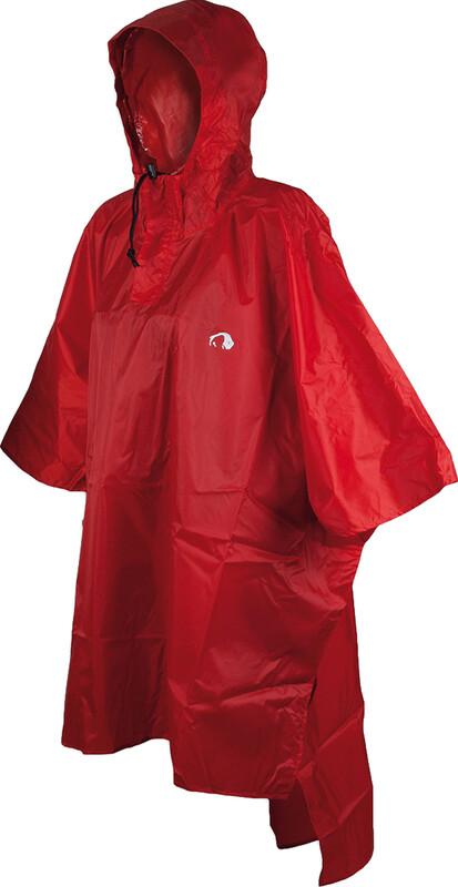 Tatonka Poncho 2 M-L red Ponchos 2800-015