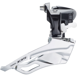 Shimano 105 FD-5703 Front Derailleur 3x10-delt black/silver black/silver