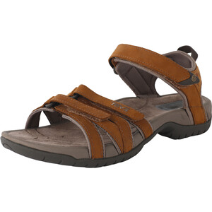 Teva Tirra Leather Sandalen Damen braun braun