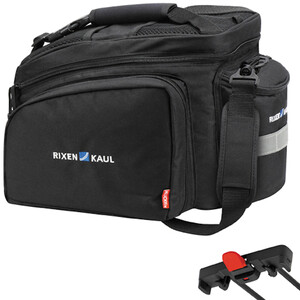 KlickFix Rackpack 2 Plus Gepäckträgertasche für Racktime schwarz schwarz