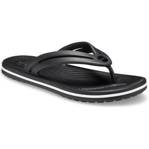 Crocs Crocband Flache Sandalen black black
