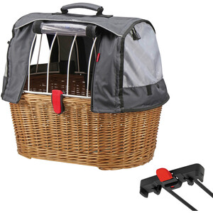 KlickFix Plus Doggy Basket Plus für Racktime