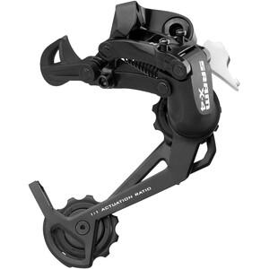 SRAM X4 Dérailleur arrière 8 fois cages longues, noir noir