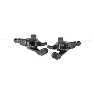 SRAM X3 Trigger-Set 7 fach hinten 3 fach vorne schwarz schwarz