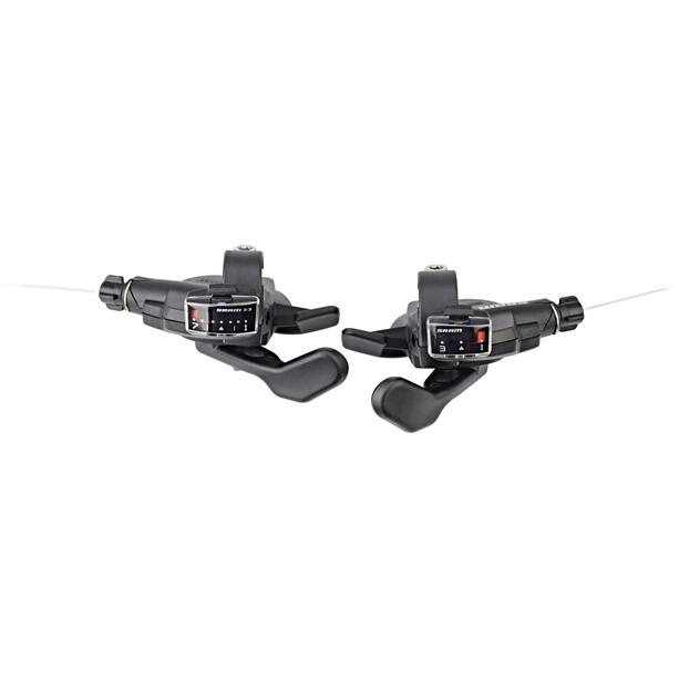 SRAM X3 Trigger-Set 7 fach hinten 3 fach vorne schwarz