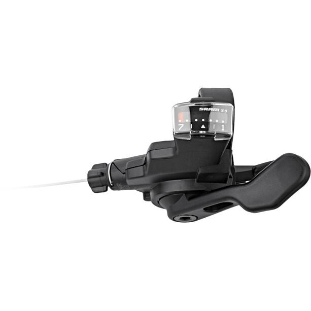 SRAM Trigger X3 Girstang 7-gir bak/høyre Svart