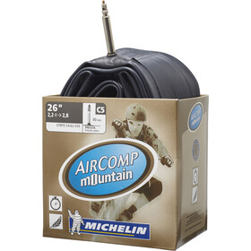 michelin c5 aircomp fahrradschlauch 26 zoll sv 40 mm. Black Bedroom Furniture Sets. Home Design Ideas