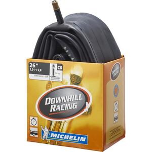 """Michelin C6 Downhill Racing Fahrradschlauch 26"""" schwarz schwarz"""