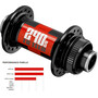DT Swiss Front Hub 240s MTB Disc CL 15 mit CL-Adapter schwarz/rot