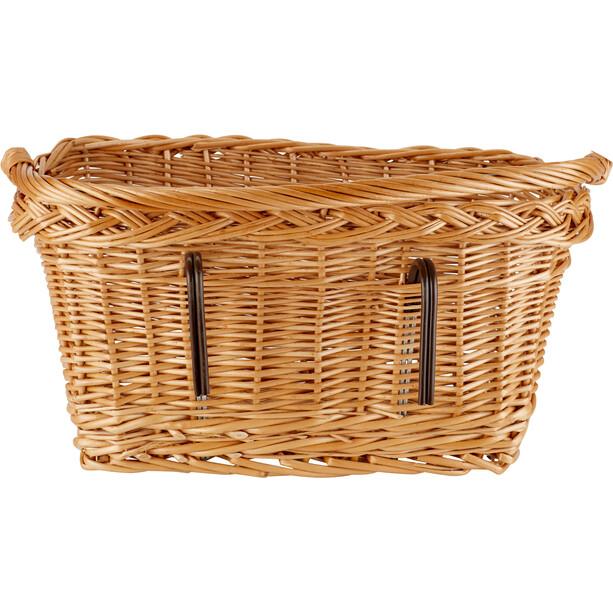 Basil Davos Front/Rear Wheel Basket brun