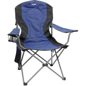 brunner comfort campingstuhl blau schwarz. Black Bedroom Furniture Sets. Home Design Ideas