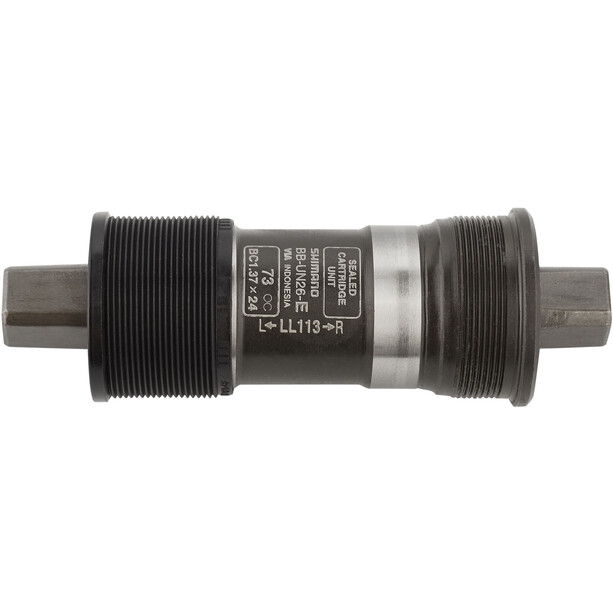 Shimano BB-UN26 Tretlager für Umwerfer o. Schrauben, BSA 73 mm