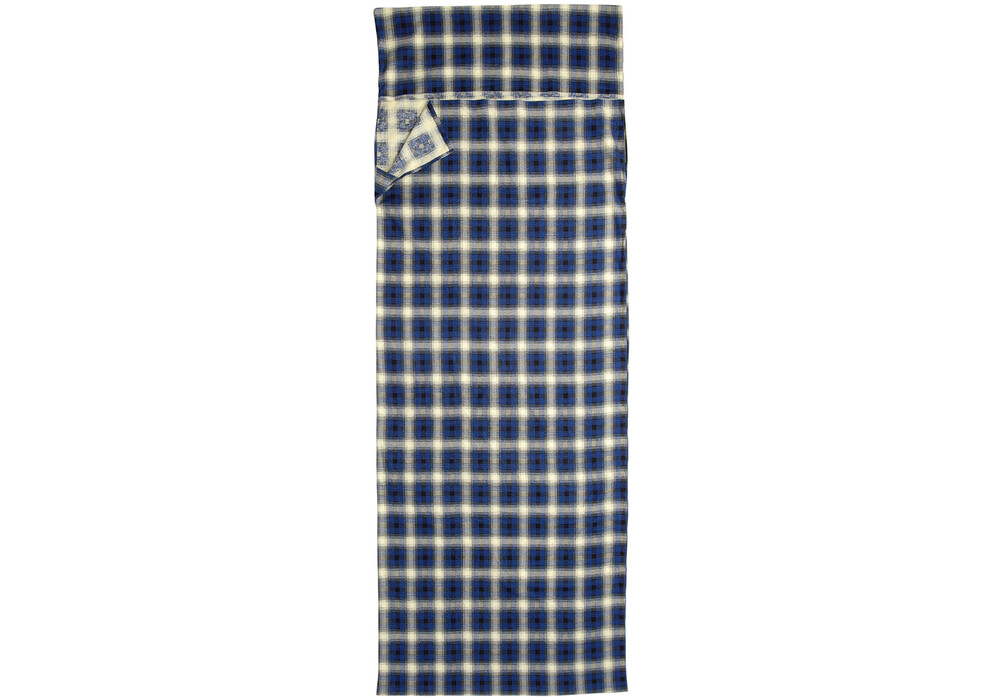 high colorado drap sac de couchage coton bleu beige. Black Bedroom Furniture Sets. Home Design Ideas