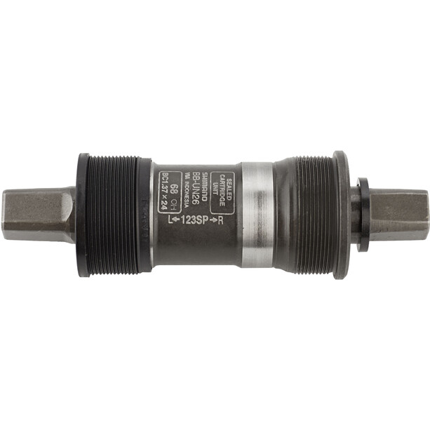 Shimano BB-UN26 Bottom Bracket 68 mm, BSA-lager, f.FC-C510, med distanser och skruvar