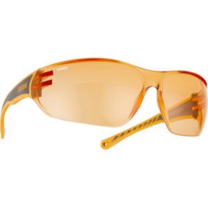 UVEX Sportstyle 204 Glasses, noir/orange noir/orange