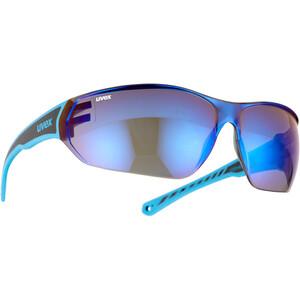 UVEX Sportstyle 204 Brille schwarz/blau schwarz/blau