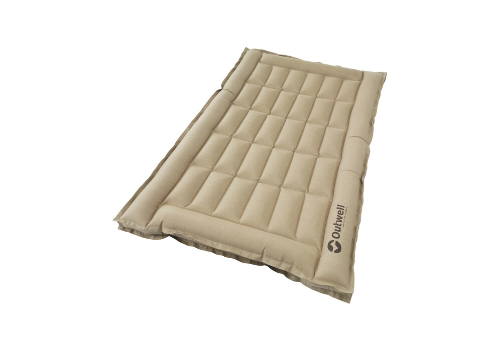 Outwell Airbed Box Matelas Gonflable 2 Places Beige