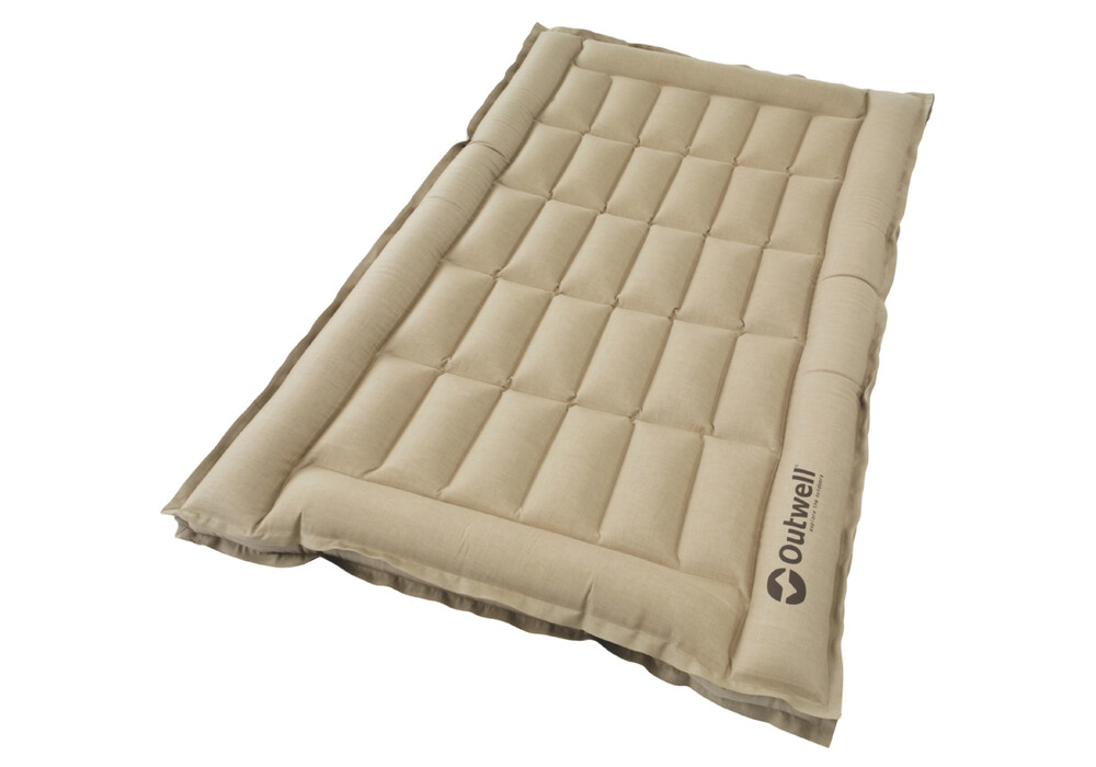 outwell airbed box matelas gonflable 2 places beige. Black Bedroom Furniture Sets. Home Design Ideas