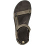 Teva Tanza Leather Sandalen Herren brown