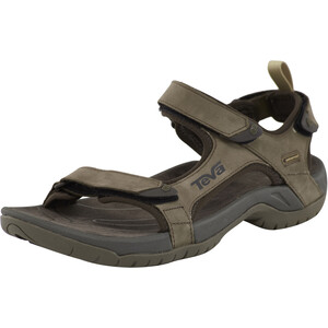 Teva Tanza Leather Sandalen Herren brown brown