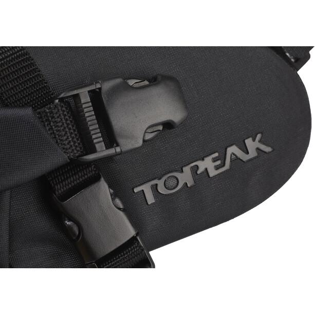 Topeak Wedge DryBag Strap Sacoche De Selle, noir