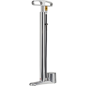 Lezyne CNC Travel Floor Drive Standpumpe silver silver