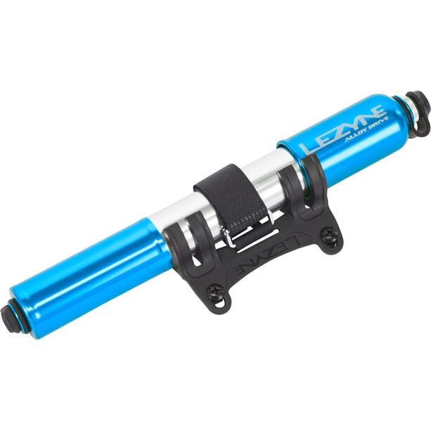 Lezyne Alloy Drive Minipumpe Medium blau