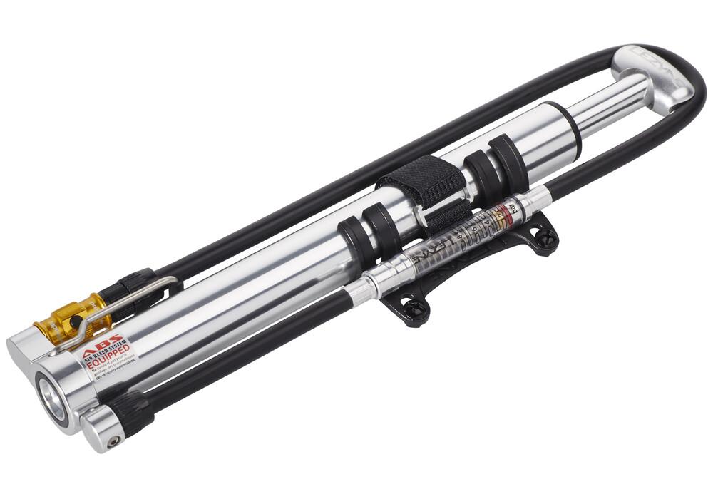Lezyne micro floor drive hvg mit luftdruckmesser silber for Micro floor