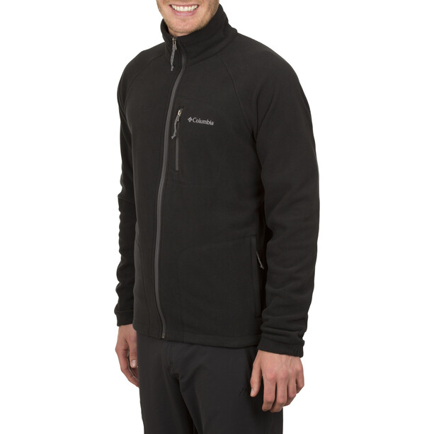 Columbia Fast Trek II Full-Zip Fleecejacke Herren black