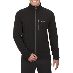 Columbia Fast Trek II Täysvetoketjullinen Fleece-takki Miehet, black black