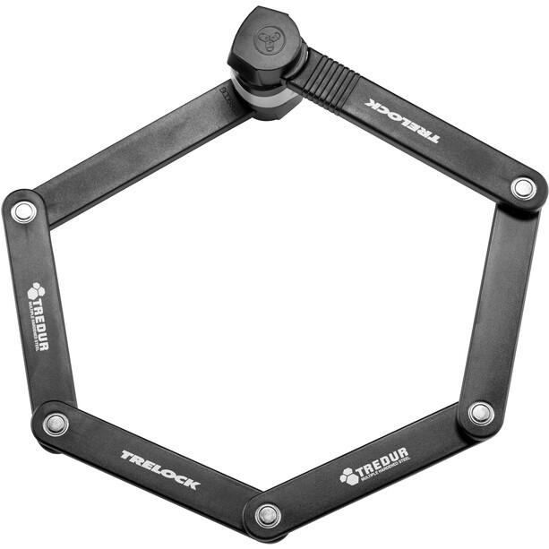 Trelock FS 455 Cops Compact Faltschloss silber
