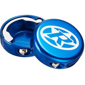 Reverse Lock-On Endkappen dunkelblau dunkelblau
