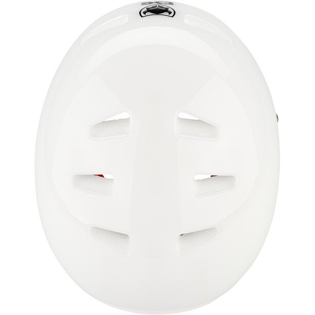 TSG Evolution Special Makeup Helm Herren clear white