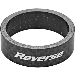 """Reverse Carbon Entretoise 10mm, 1 1/8"""", noir noir"""