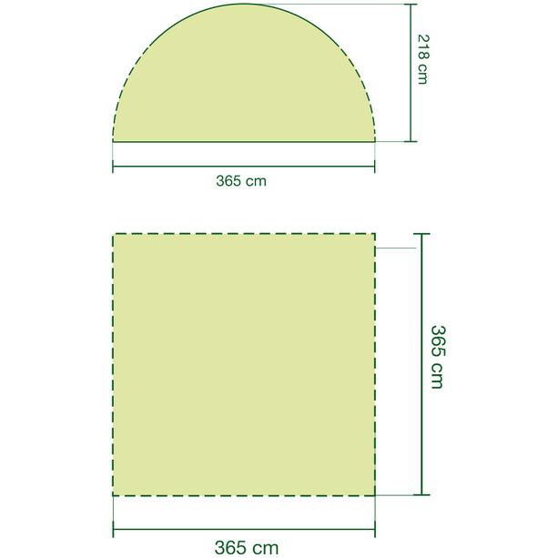 Coleman Event Shelter L 3,6x3,6m