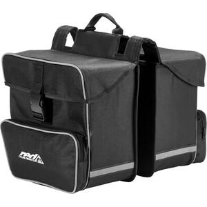 Red Cycling Products Premium Double Bag Gepäckträgertasche schwarz schwarz