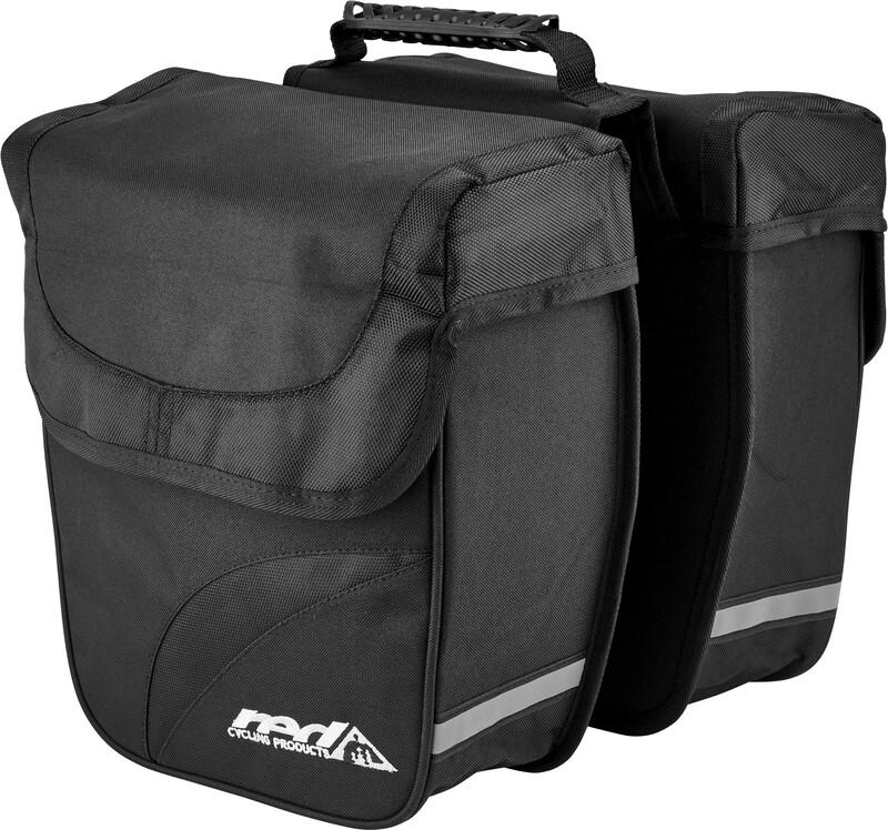 Double City Bag Gepäckträgertasche schwarz 2017 Gepäckträgertaschen